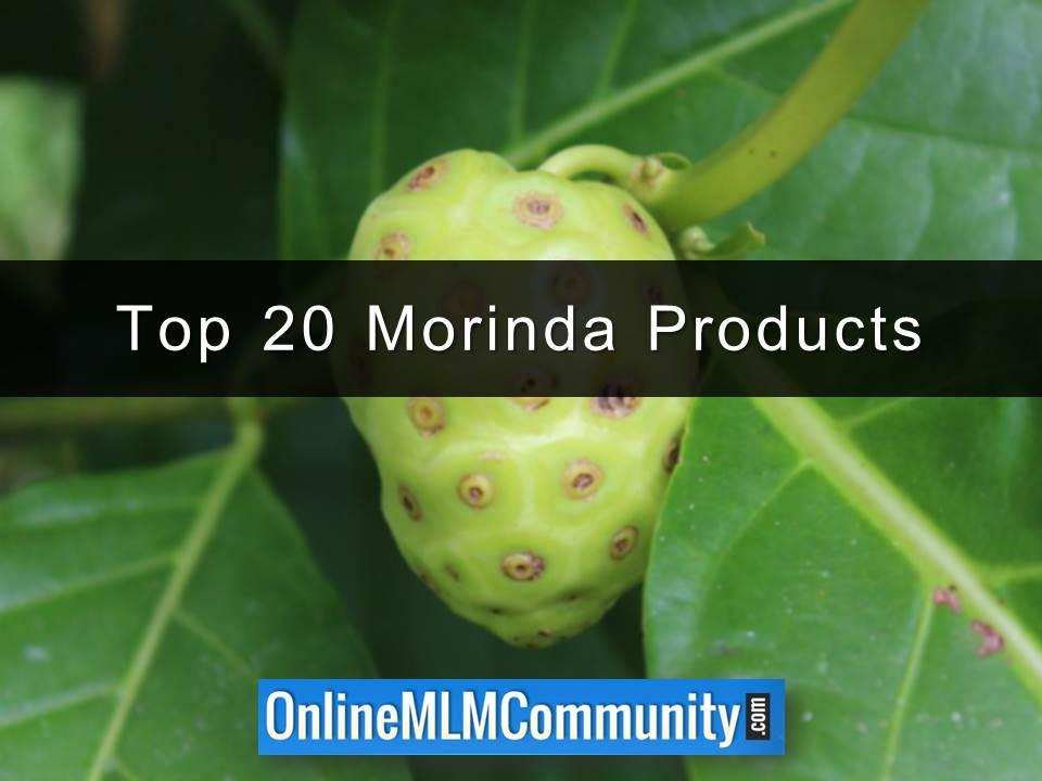 Top 20 Morinda Products