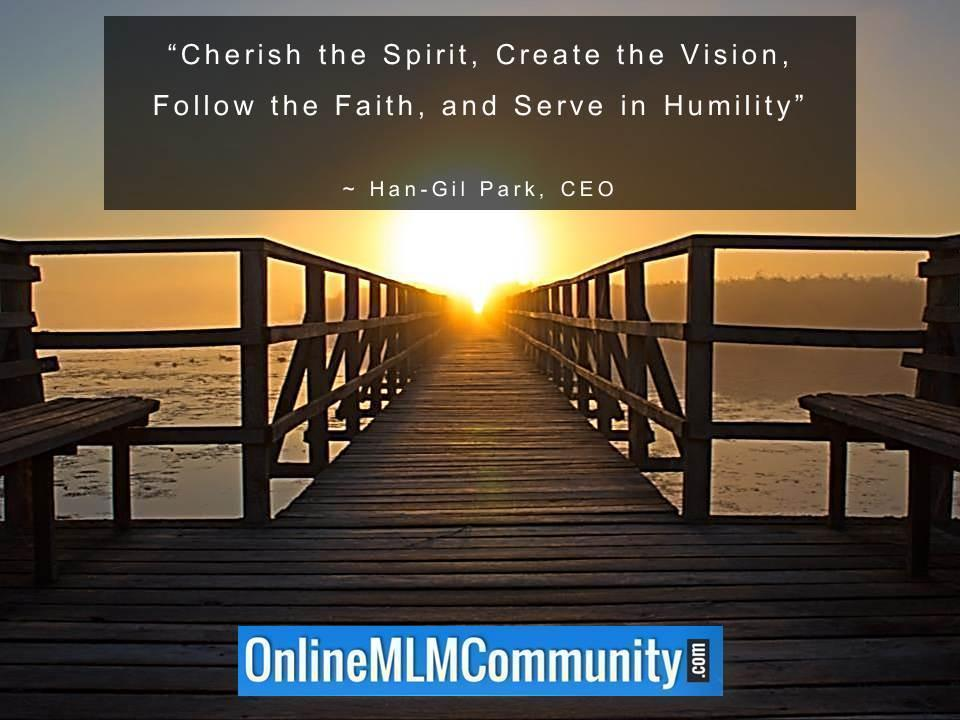 Cherish the Spirit Create the Vision Follow the Faith and Serve in Humility