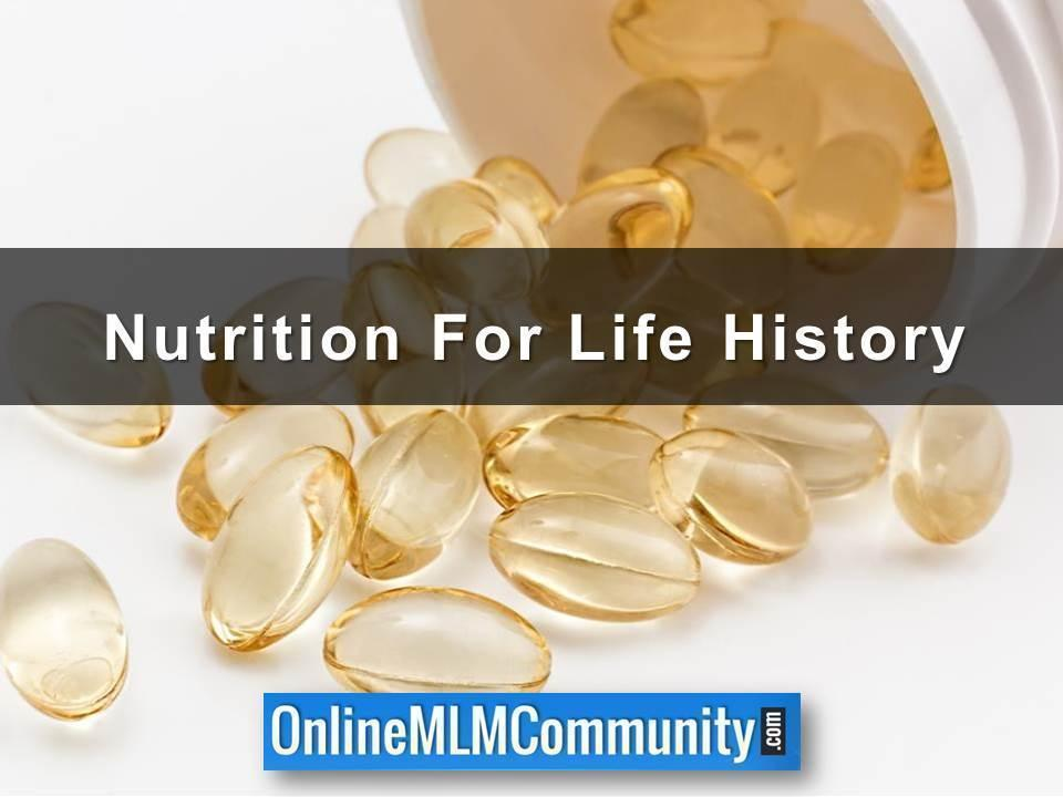 Nutrition For Life History