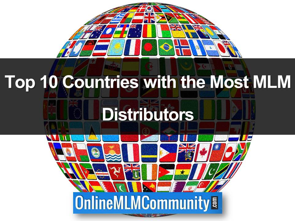 countries with the most mlm distributors