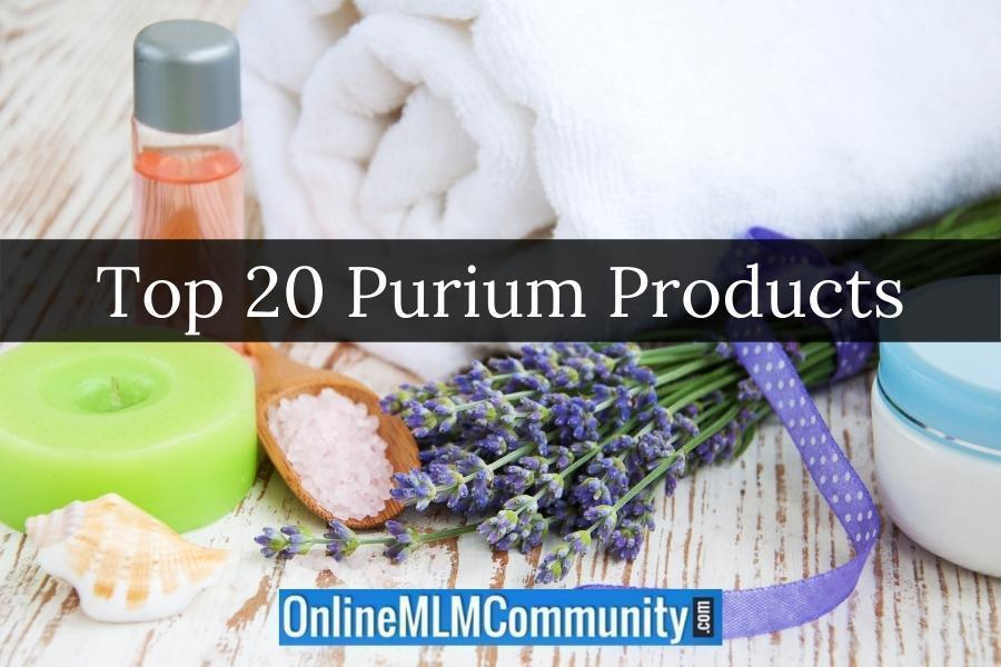 Top 20 Purium Products