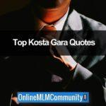 Organic Networker Book Review and Kosta Gara Quotes
