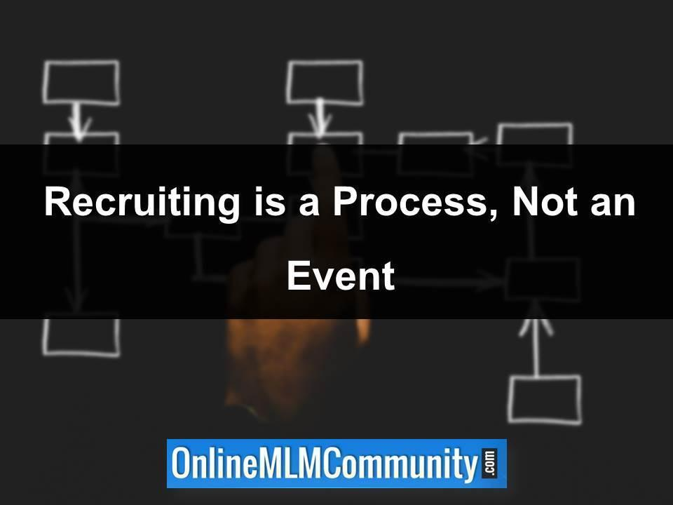 Recruiting is a Process, Not an Event