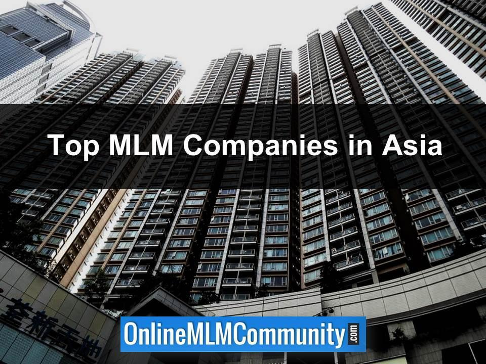 Top MLM Companies in Asia