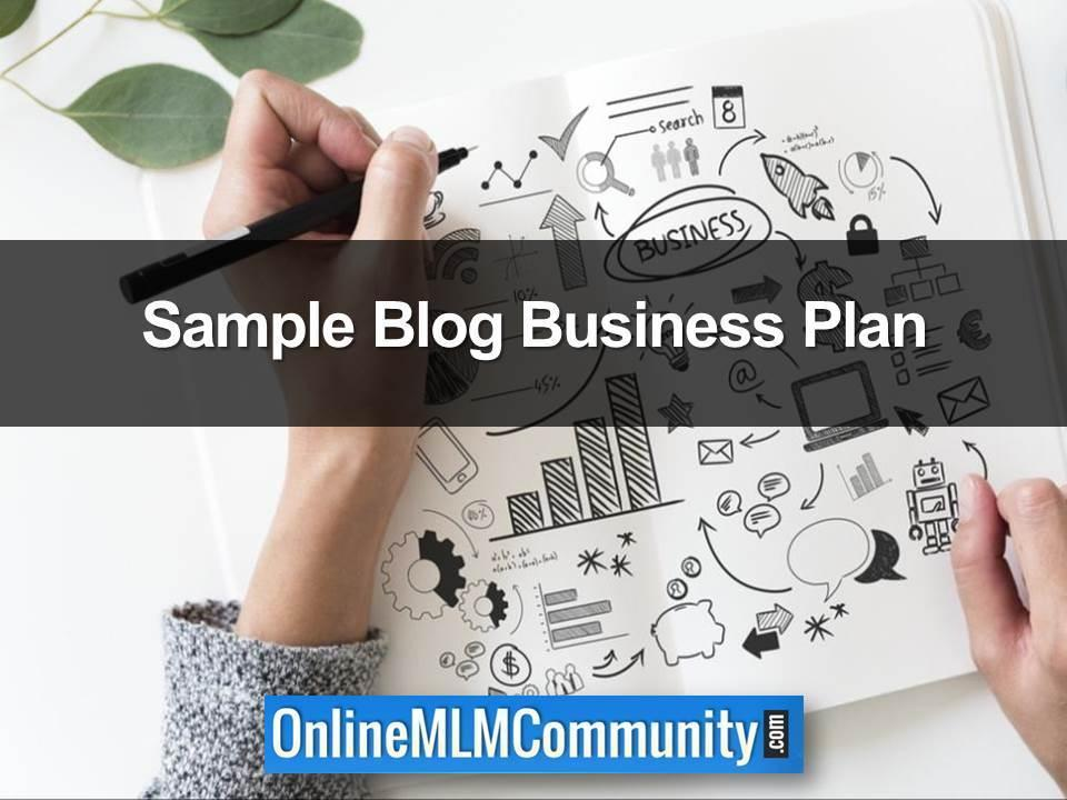 Sample Blog Business Plan