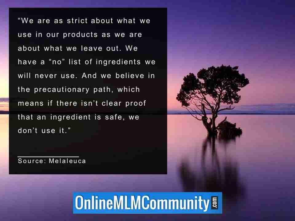 we believe in the precautionary path