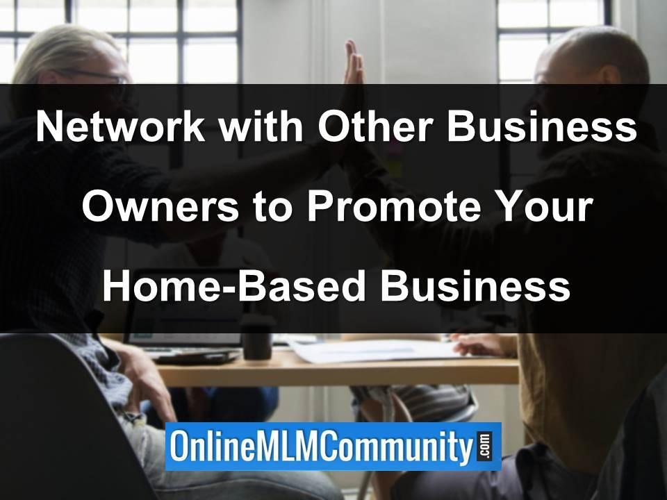 network with other business owners