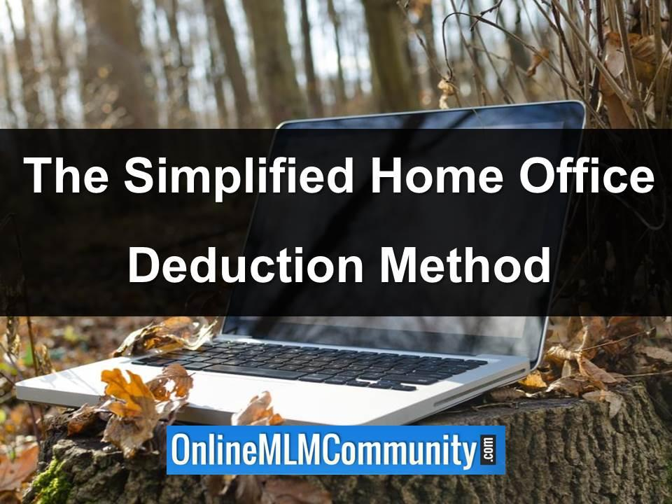 the simplified home office deduction method
