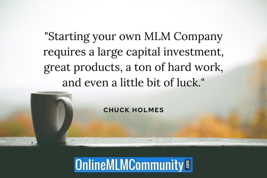 starting your own mlm company