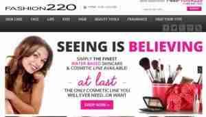 fashion 220 website
