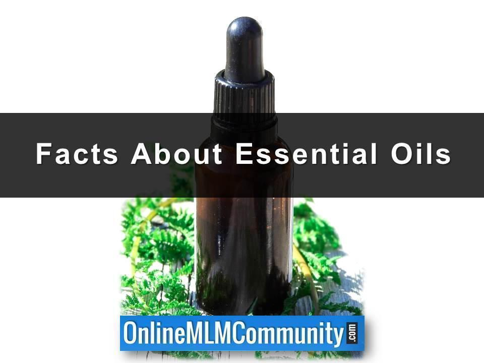 Facts About Essential Oils