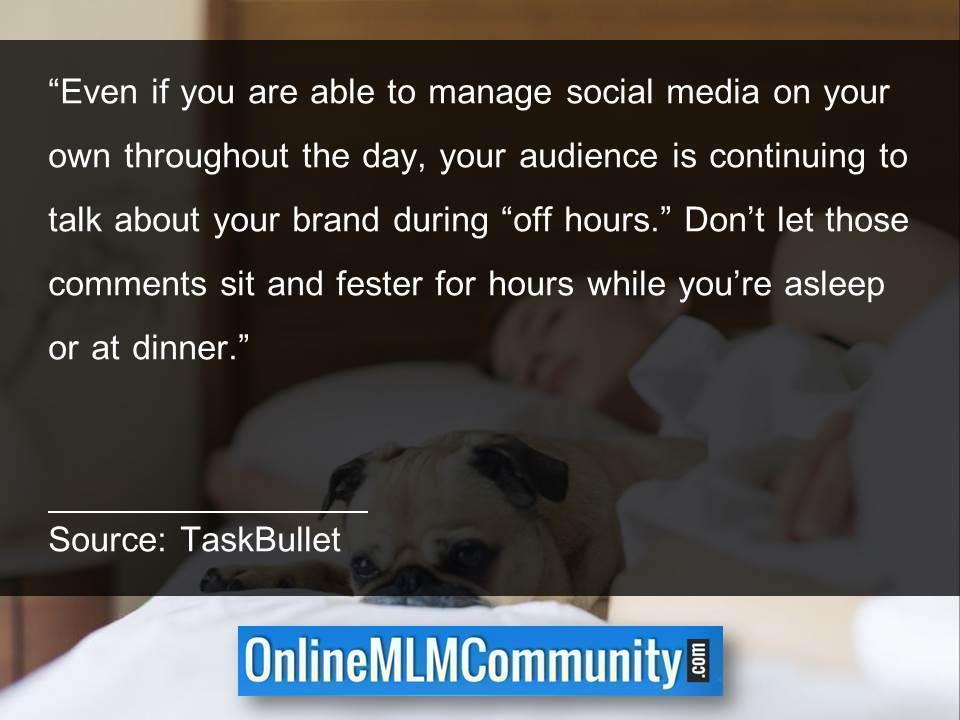 Dont let those comments sit and fester for hours while youre asleep or at dinner