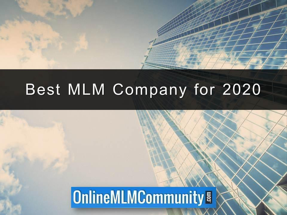 Best MLM Company for 2020
