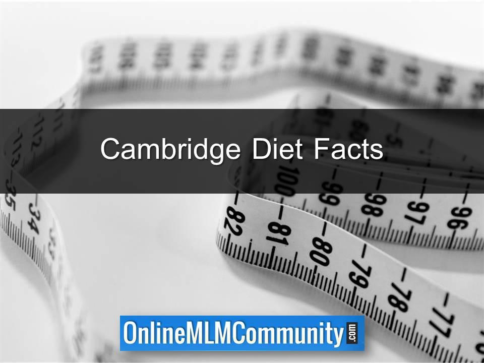 Cambridge Diet Facts