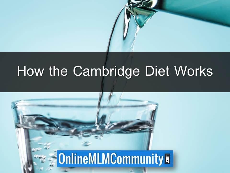 How the Cambridge Diet Works