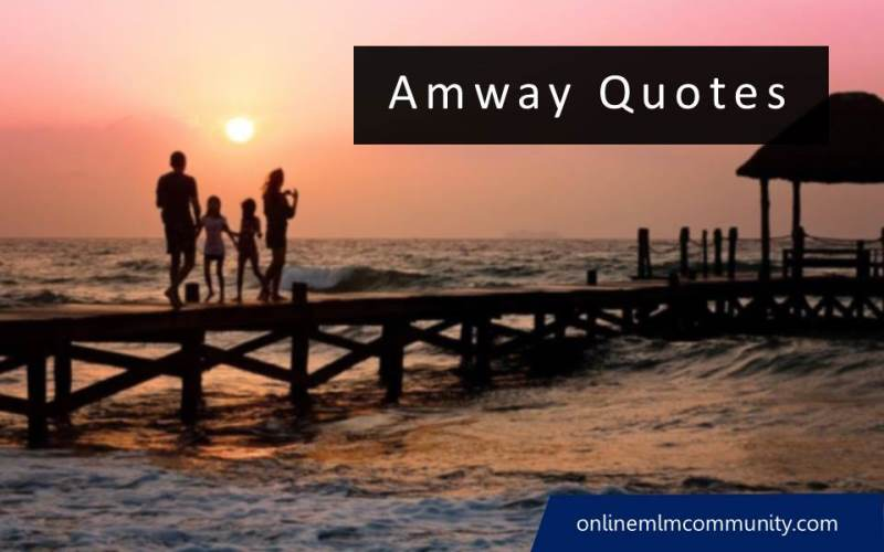amway quotes