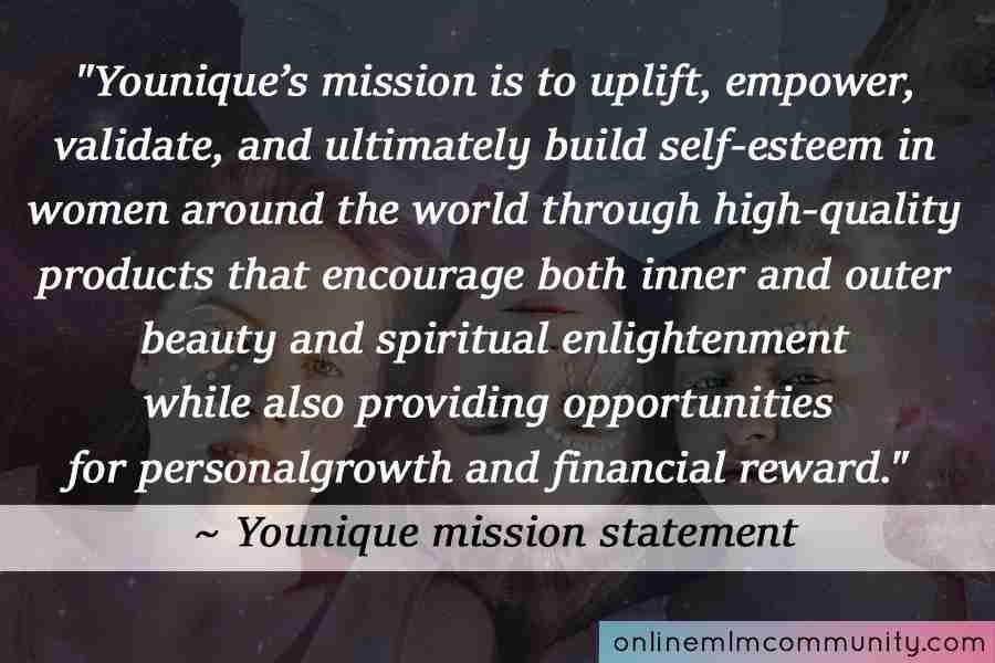 younique mission statement