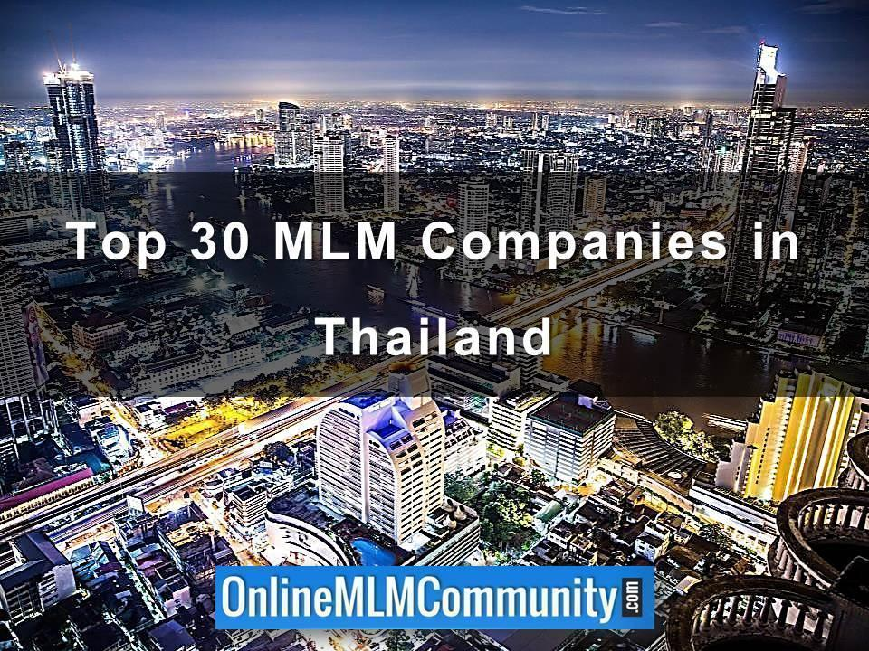 Top 30 MLM Companies in Thailand