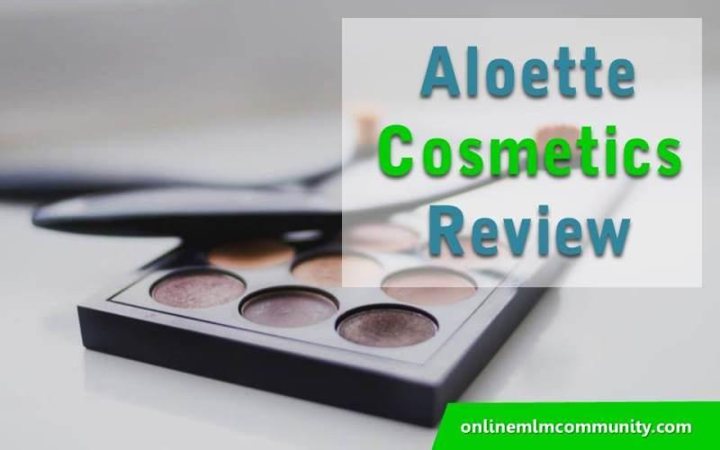 aloette cosmetics review