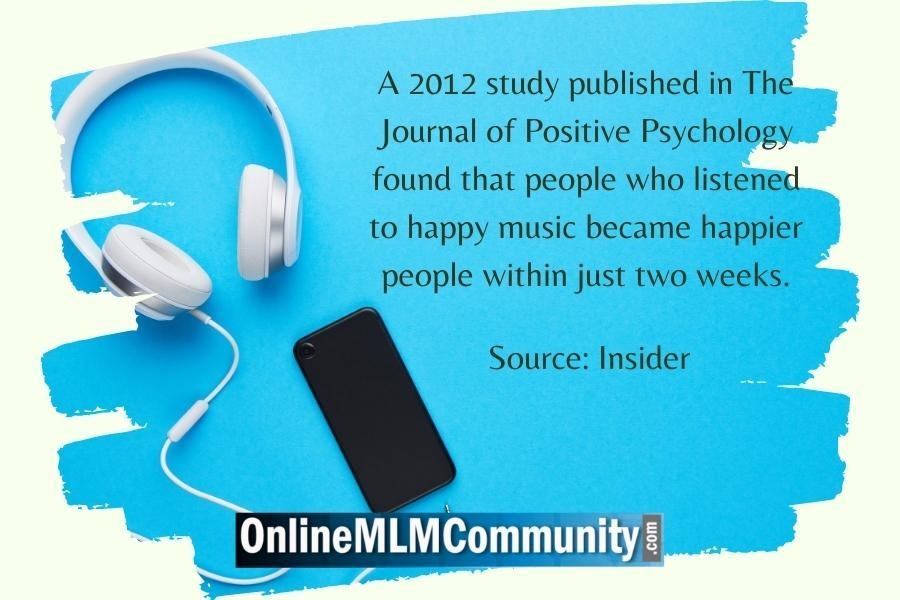 listen to happy music