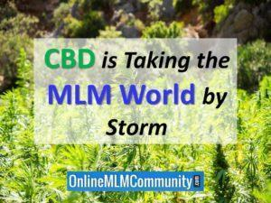 cbd is taking the mlm world by storm