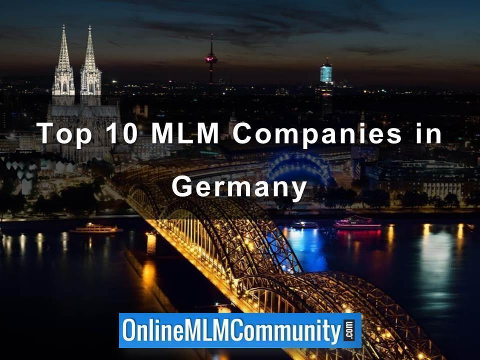 Top 10 MLM Companies in Germany