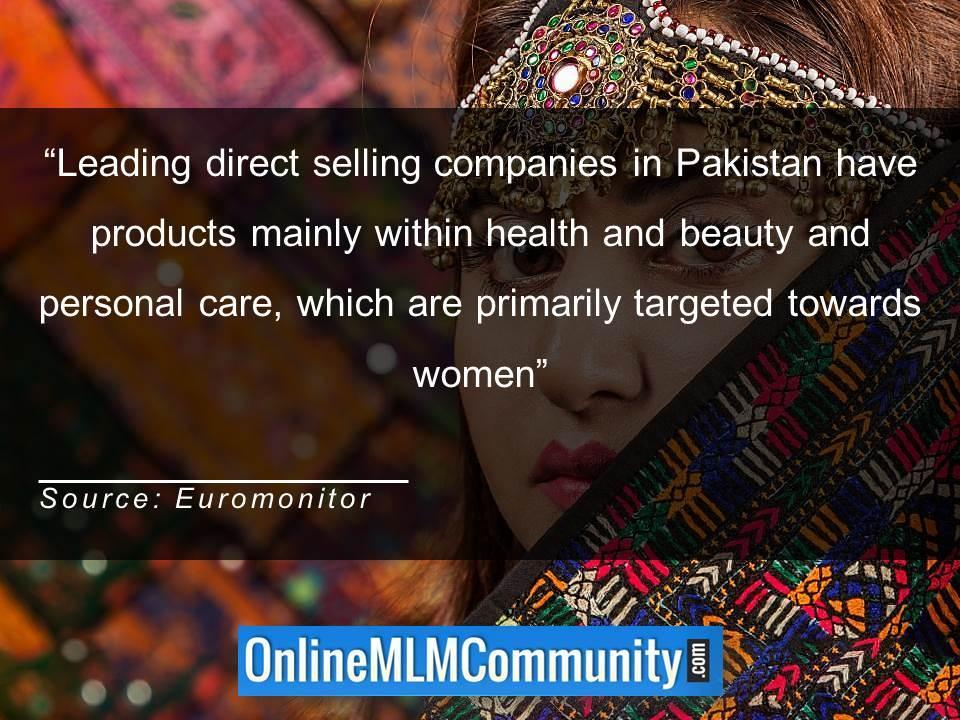 Leading direct selling companies in Pakistan have products mainly within health and beauty and personal care
