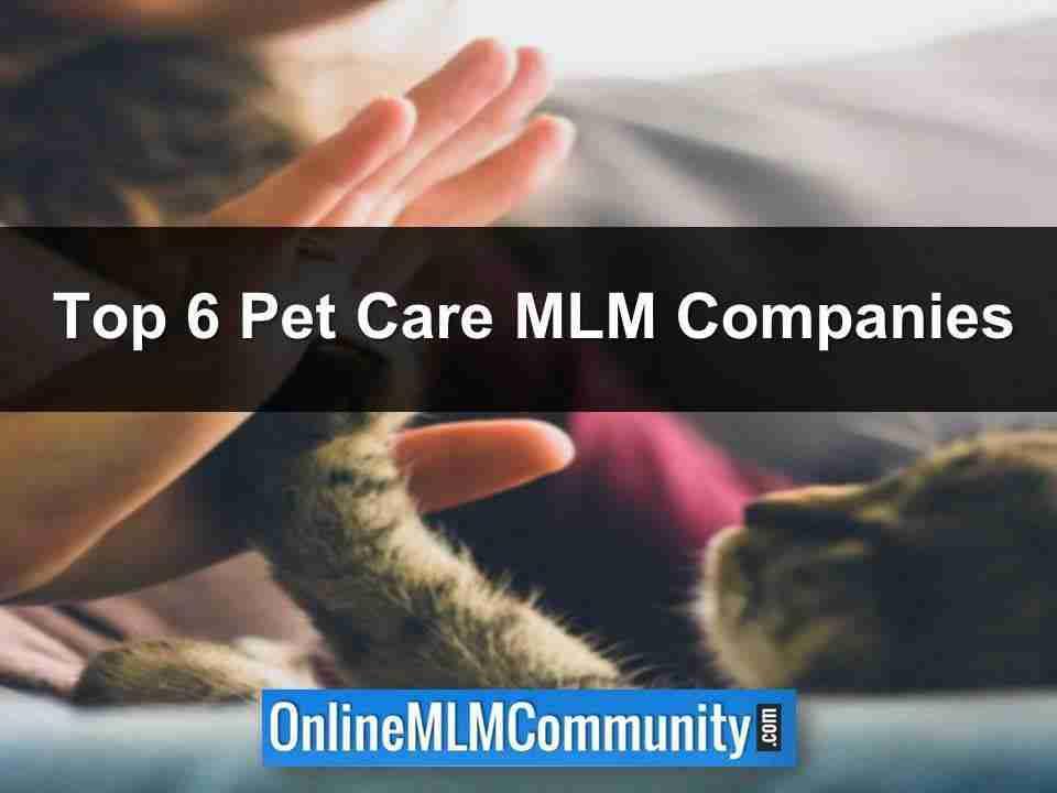 Pet Care MLM Companies