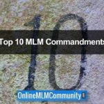 The 10 MLM Commandments