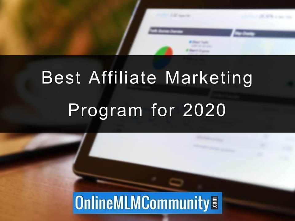 Best Affiliate Marketing Program for 2020