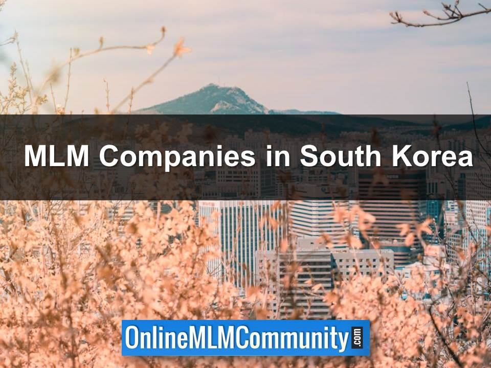 MLM Companies in South Korea
