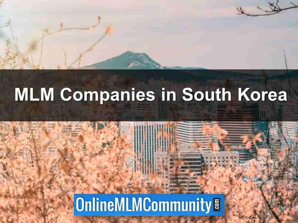 MLM Companies in South Korea