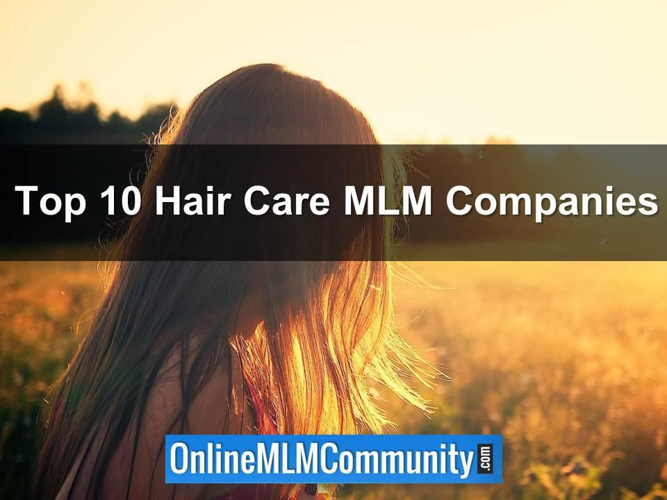 top 10 hair care mlm companies
