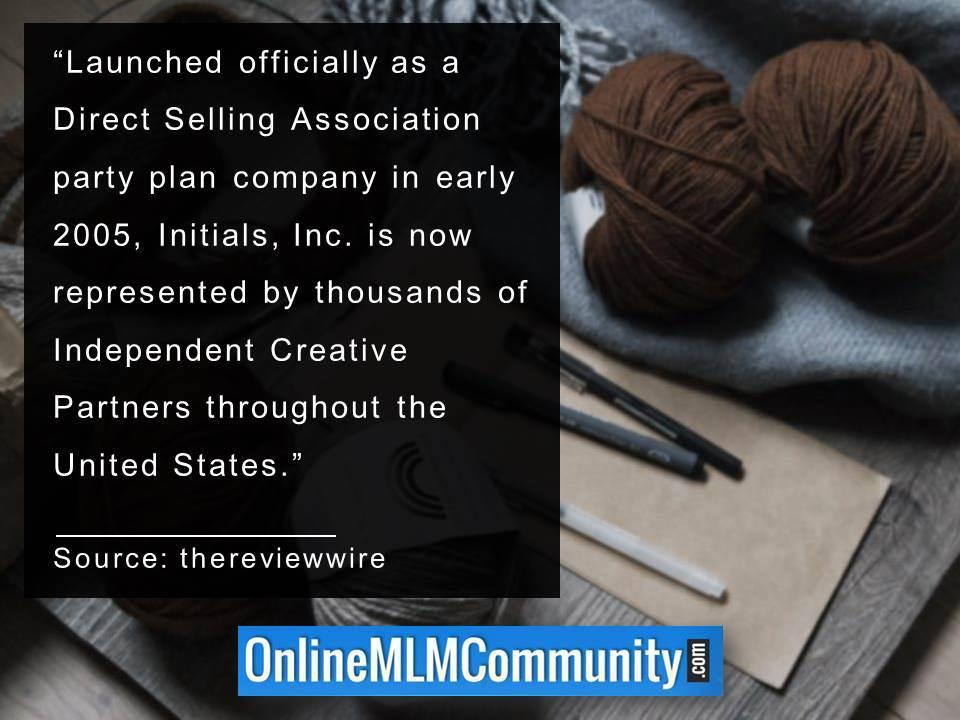 Initials, Inc. is now represented by thousands of Independent Creative Partners throughout the US