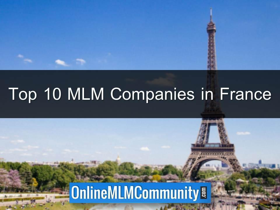 Top 10 MLM Companies in France