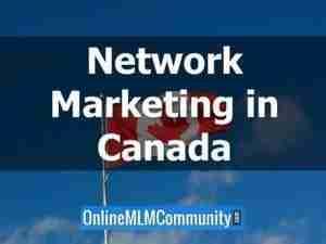 network marketing in canada