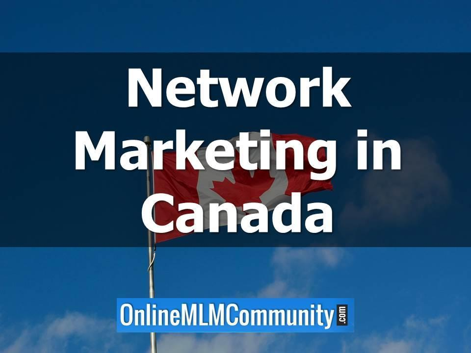 network marketing in canada