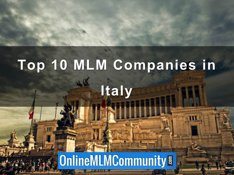 Top 10 MLM Companies in Italy