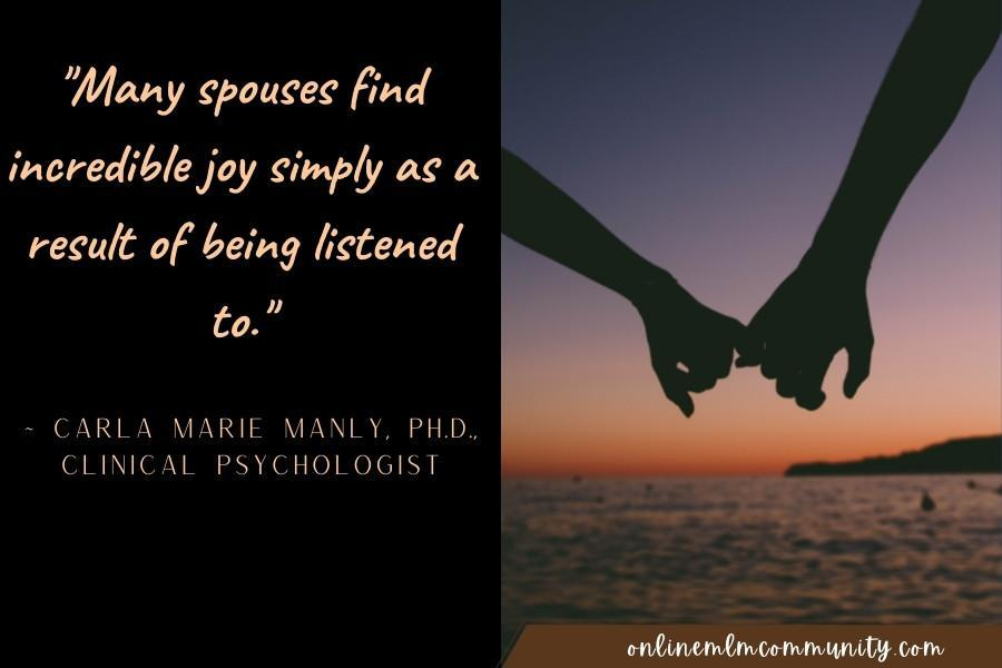 listen to your spouse