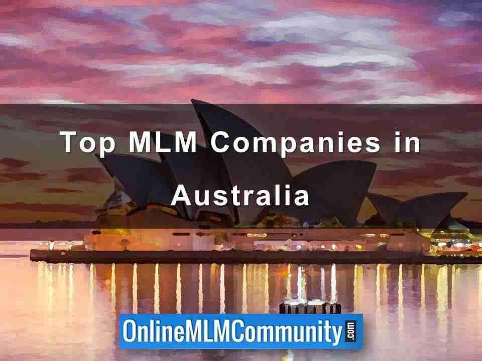 Top MLM Companies in Australia