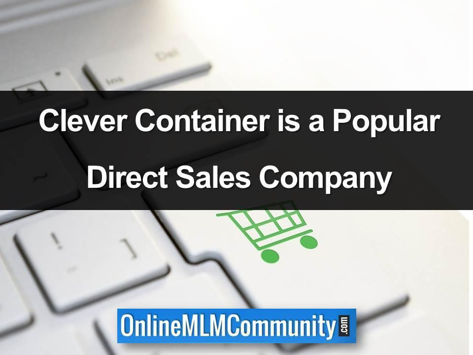 clever container is a popular direct sales company