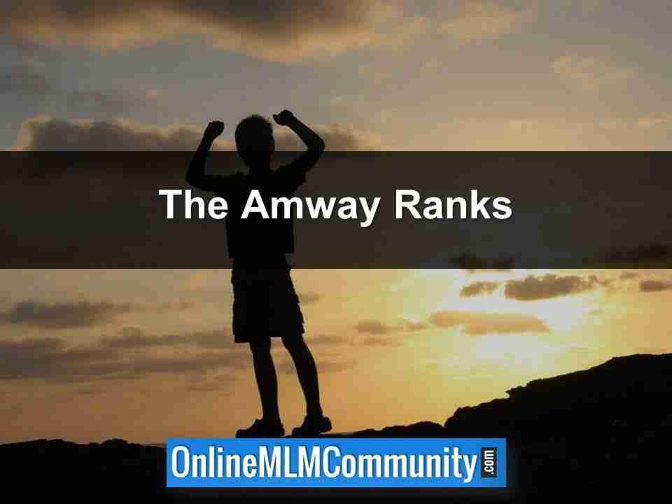 Amway Ranks