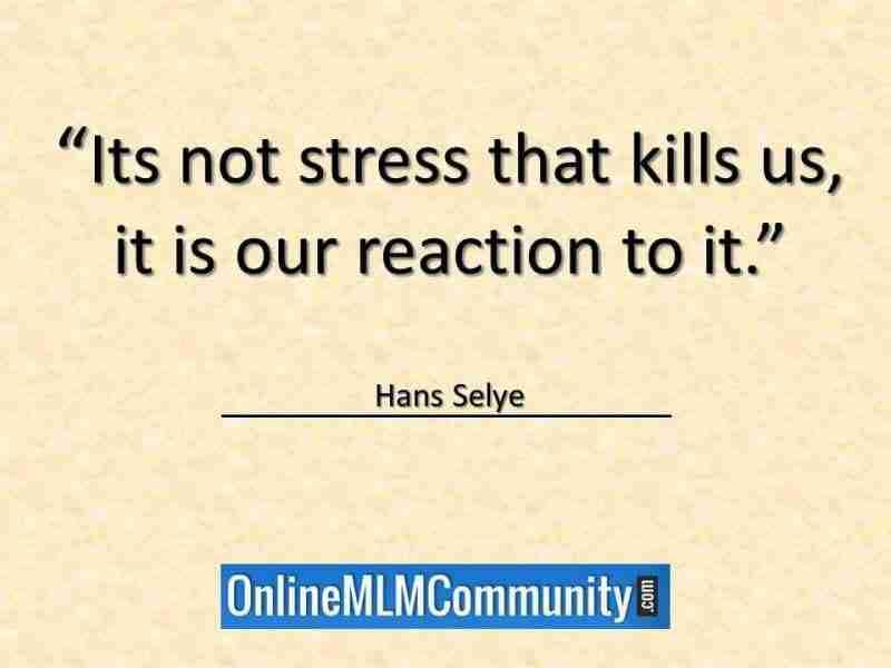stress kills us