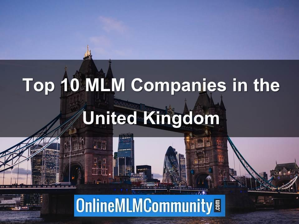 Top 10 MLM Companies in the United Kingdom