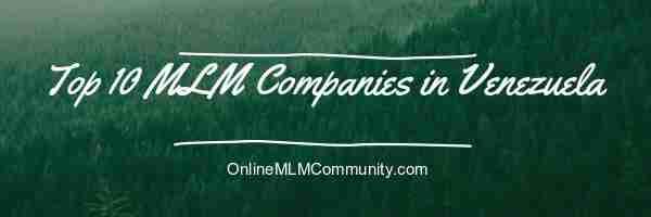 mlm companies in venezuela