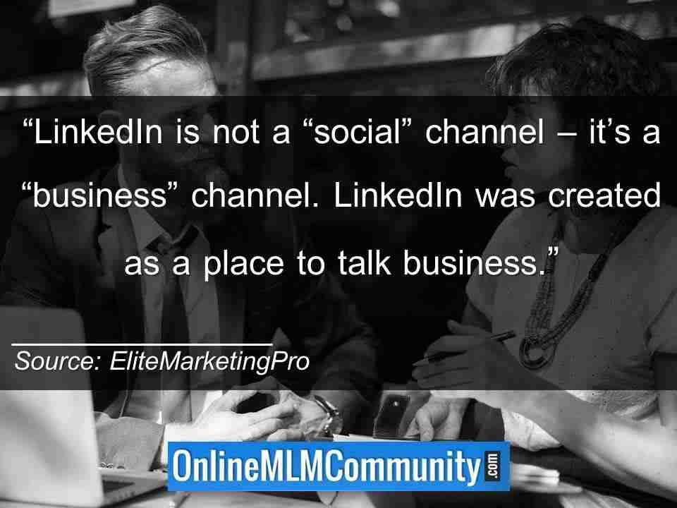 LinkedIn quote