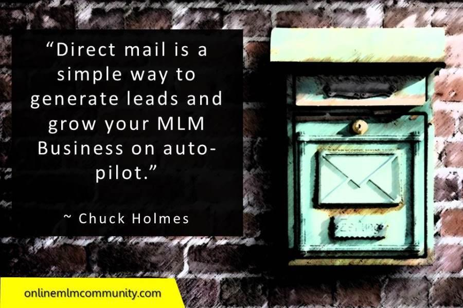Direct mail is a simple way to generate leads