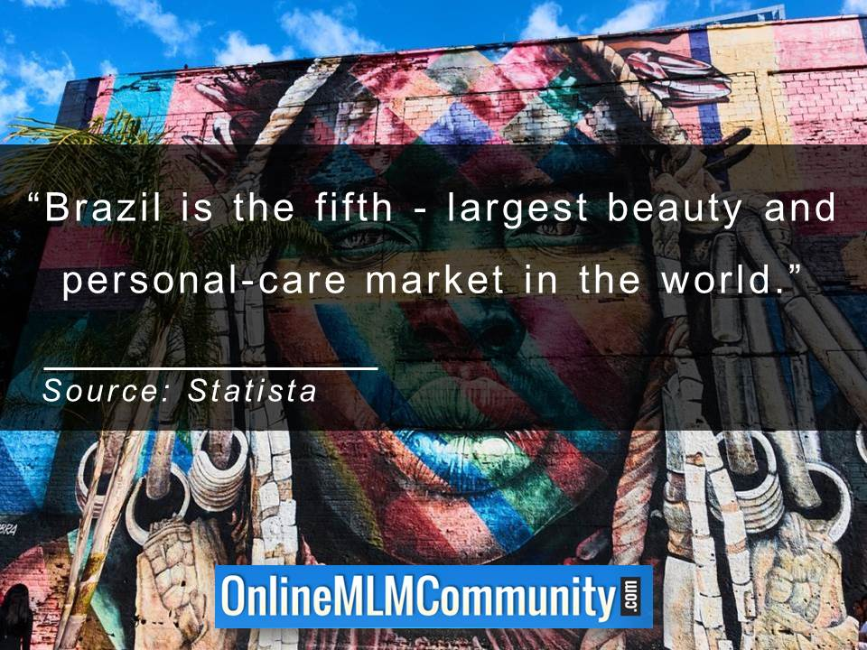 Brazil is the fifth - largest beauty and personal-care market in the world