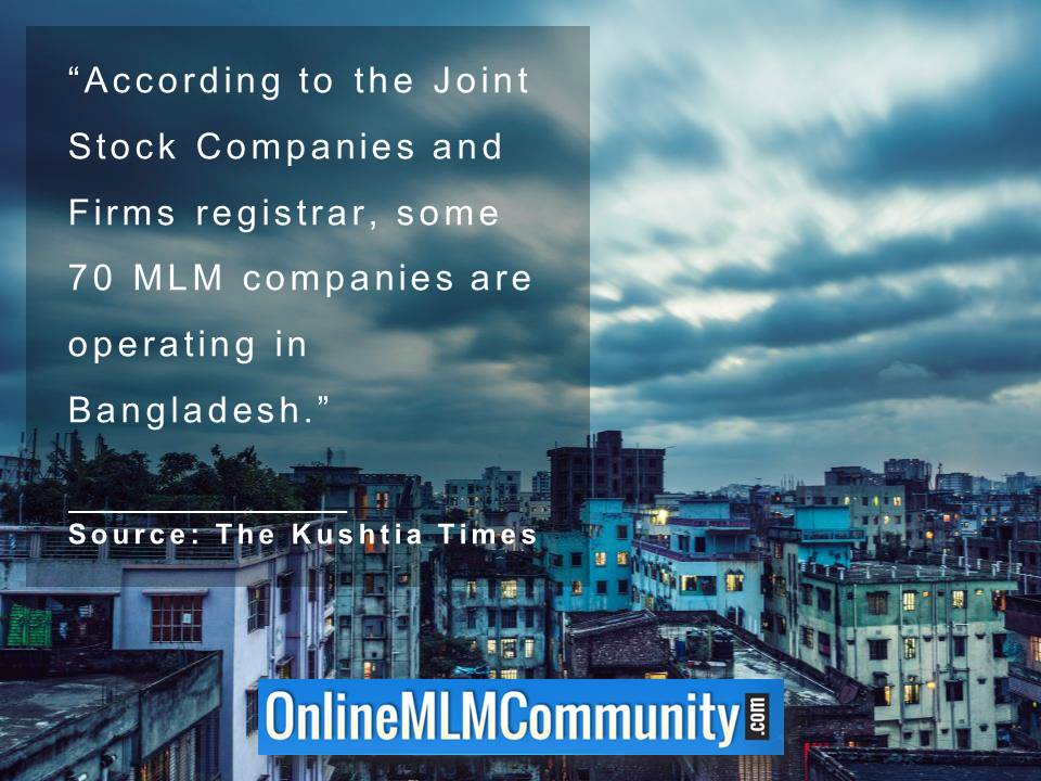 70 MLM companies are operating in Bangladesh