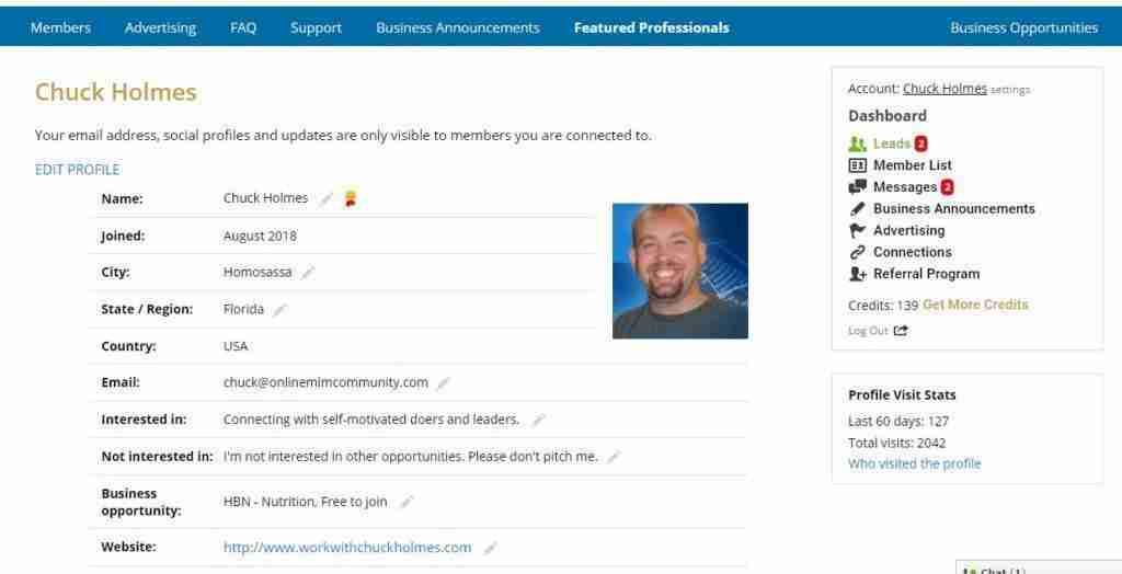 mlm gateway profile